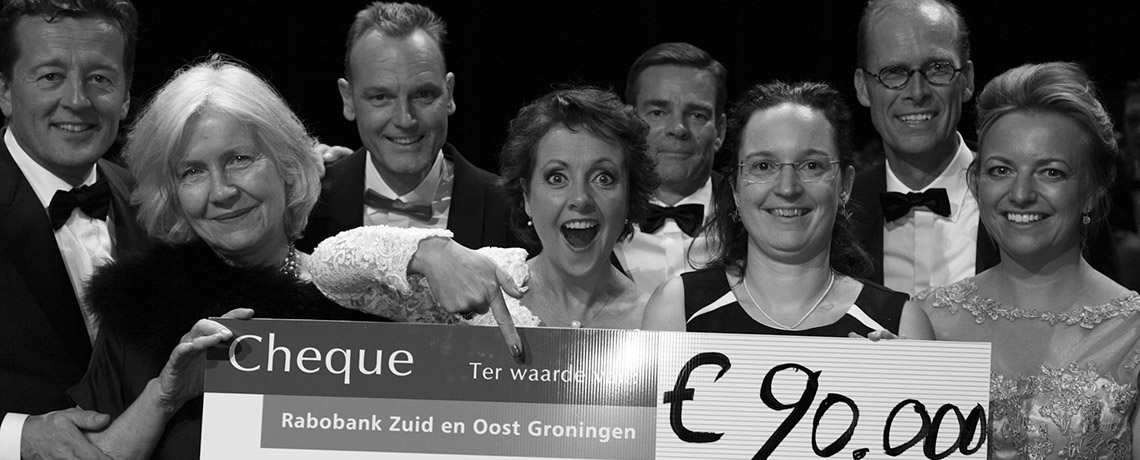Duchenne Gala Groningen brengt 90.000 euro op!
