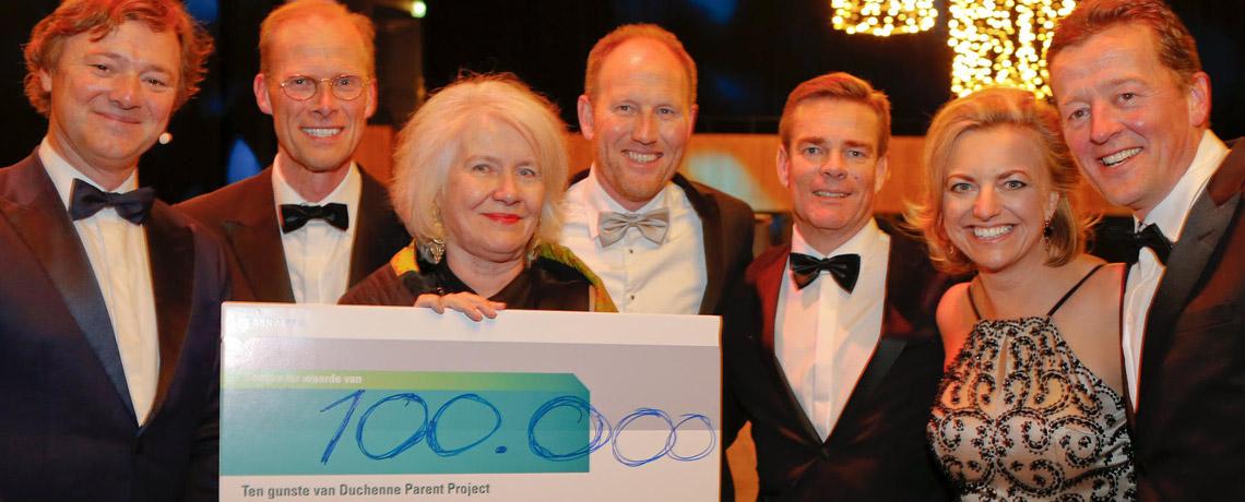 Duchenne Gala Groningen brengt 100.000 euro op!